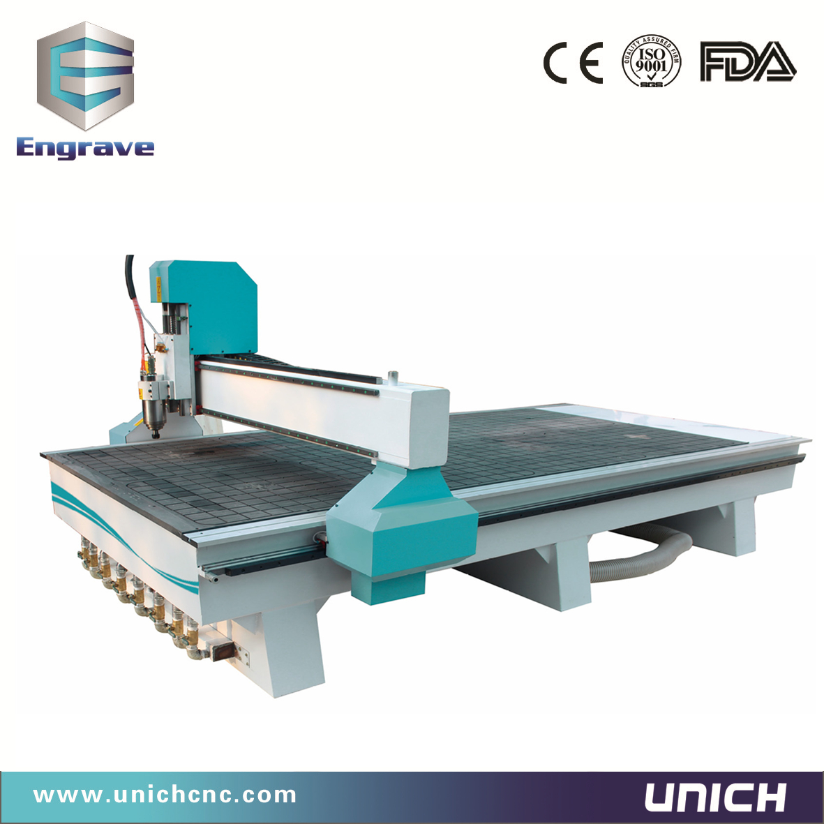 1300x2500mm working area LXM1325 cnc router