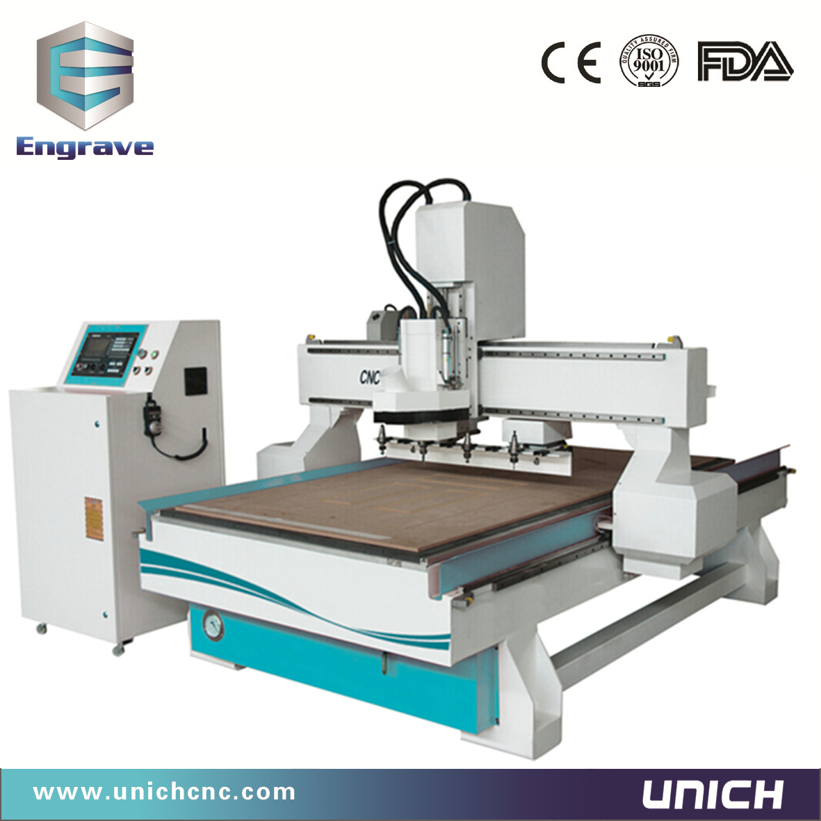 1300x2500mm tool changer cnc router