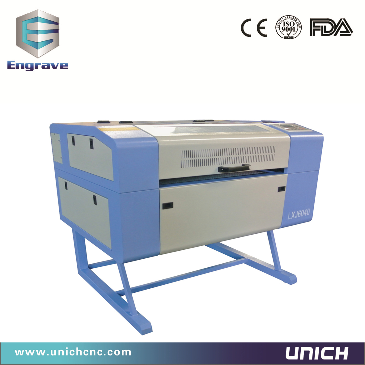 600x400mm Unich laser engraving machine