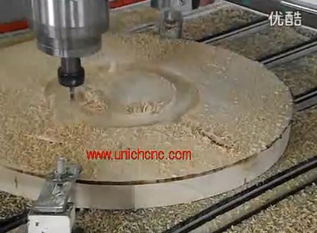 UNICH CNC Router cutting wood