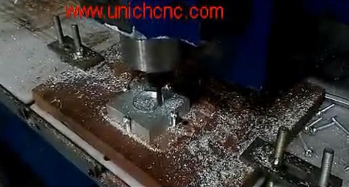 UNICH CNC Router cutting aluminium