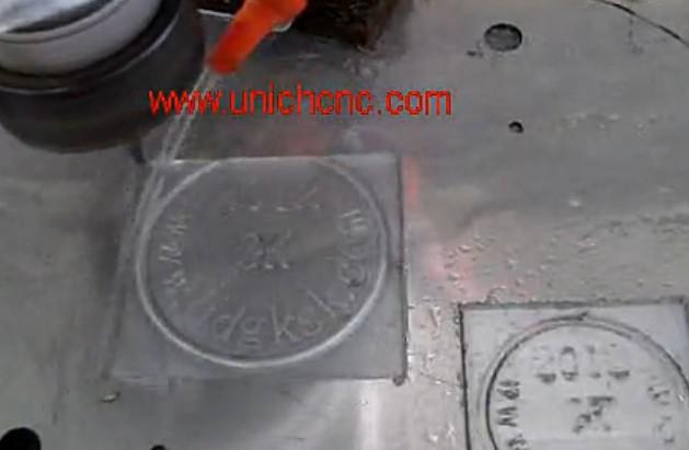 UNICH CNC Router engraving aluminium