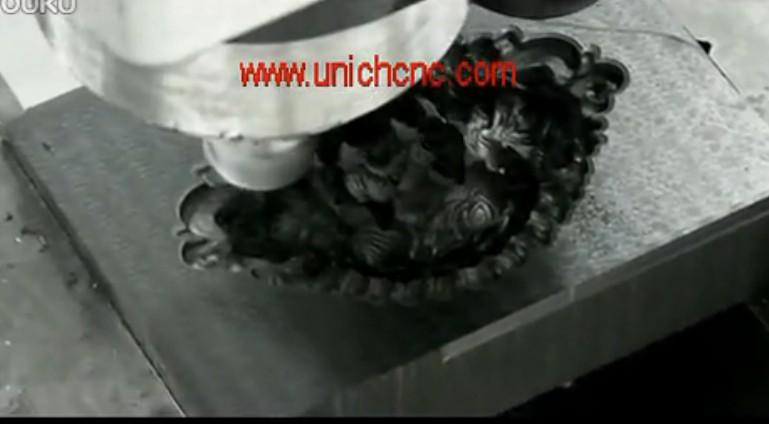 UNICH CNC Router metal engraving