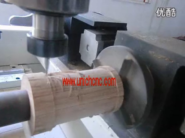 UNICH four head CNC Router for round material