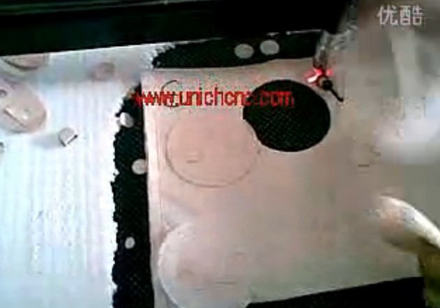 UNICH CNC Laser cutting cloth