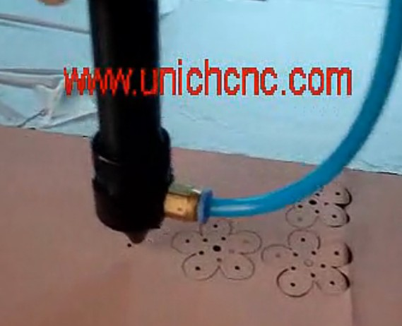 UNICH Double head cnc laser for leather