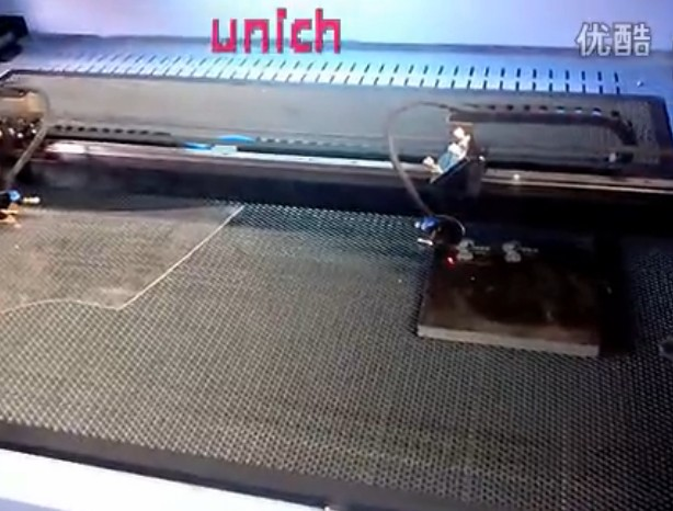 UNICH two head CNC Laser for stone
