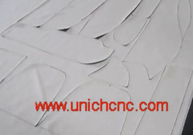 UNICH auto feeing CNC Laser cutting cloth