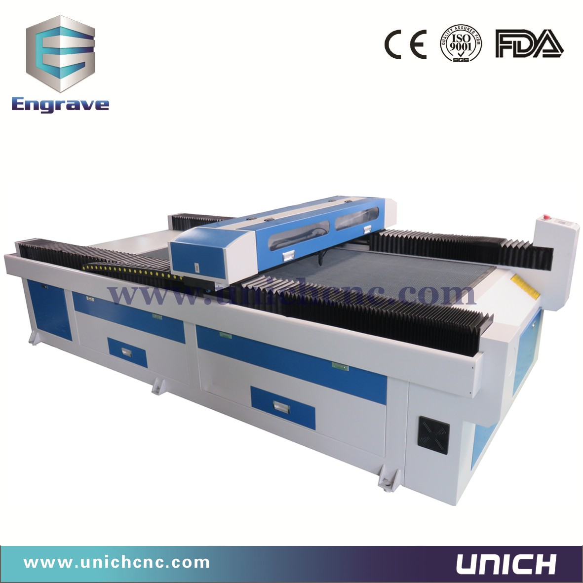 UNICH LXJ1325 CNC Laser (1300x2500mm working area ) laser engraving machine