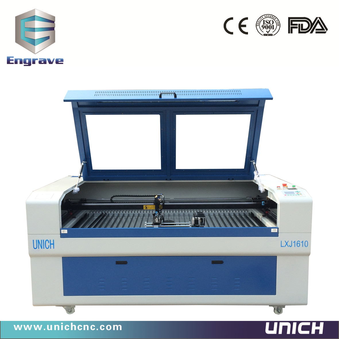 UNICH LXJ1610 CNC Laser (1600x1000mm working area )
