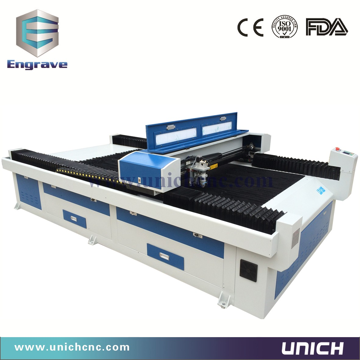 1300x2500mm working area Co2 Laser machine can cutting metal