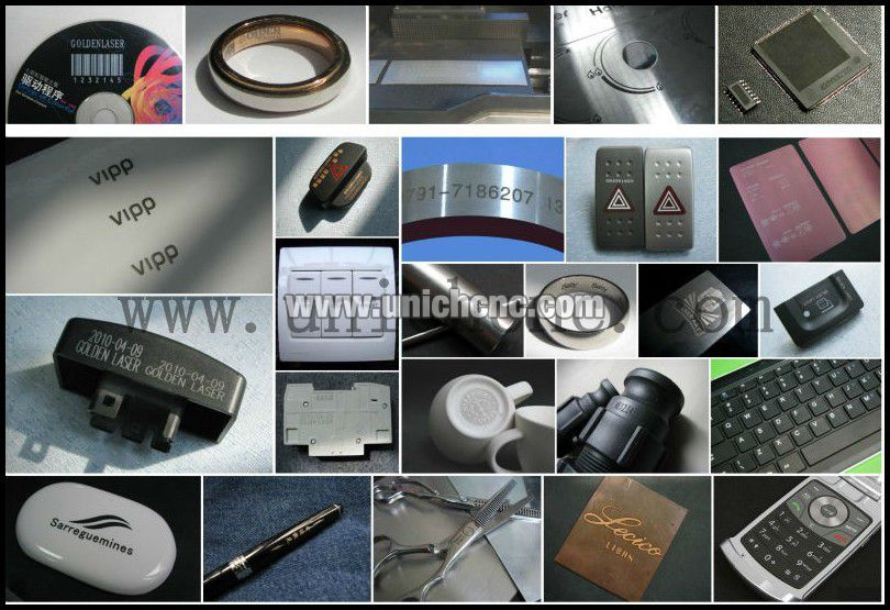 Samples of Fiber Laser marking machine.jpg