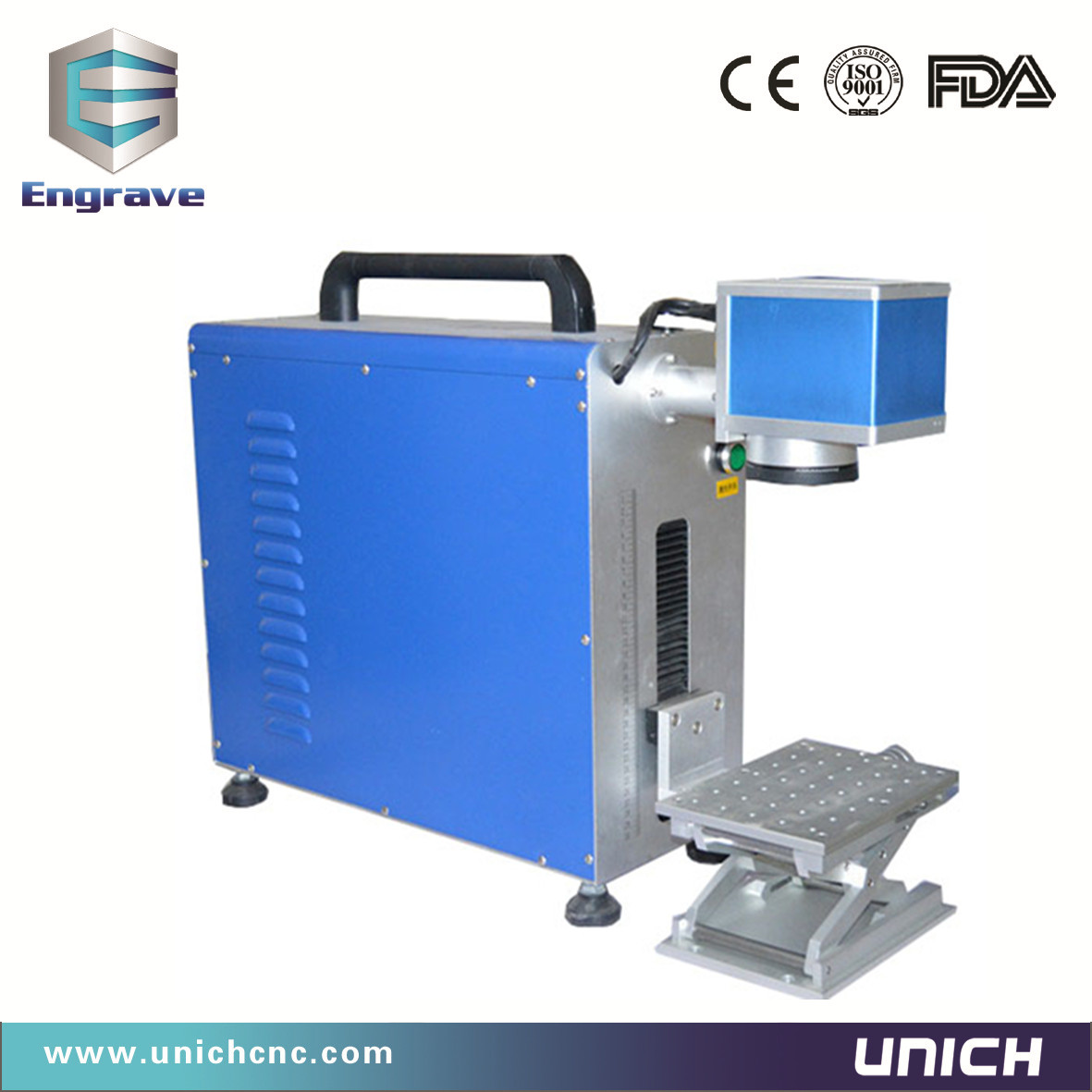 UNICH The second kind portable fiber marking machine
