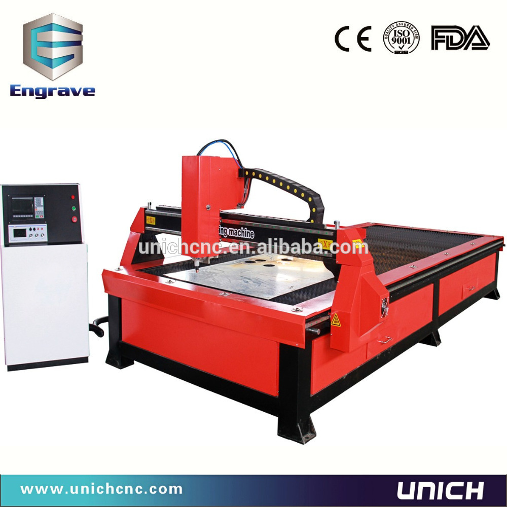 1500*3000mm working area plasma cutting machine