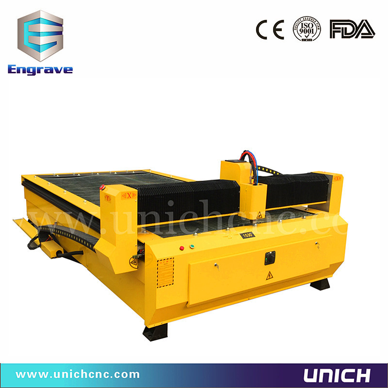 1300*2500mm plasma cutting machine without THC