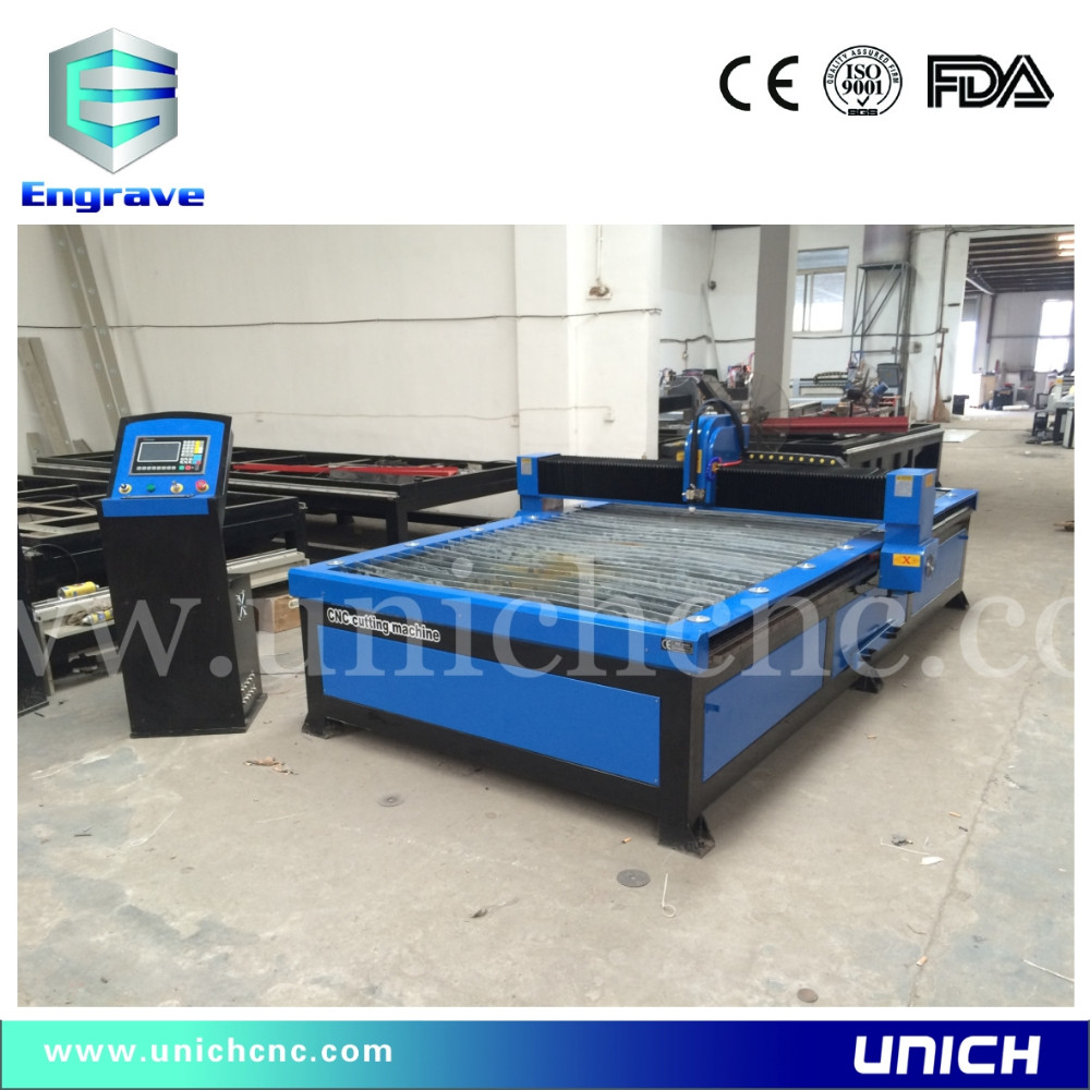Blue color 1500*3000mm plasma cutting machine