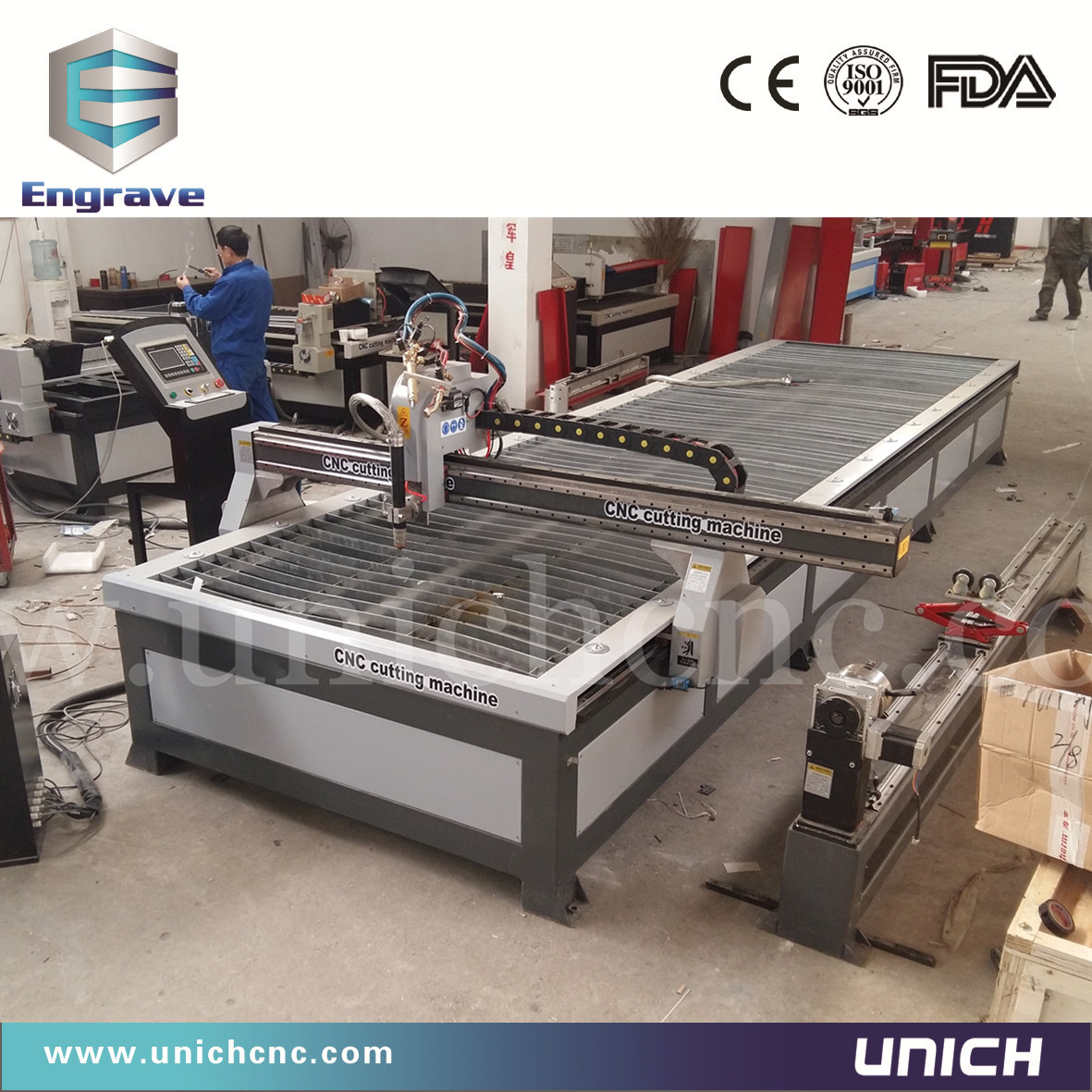 1500*6000mm Plasma cutting machine