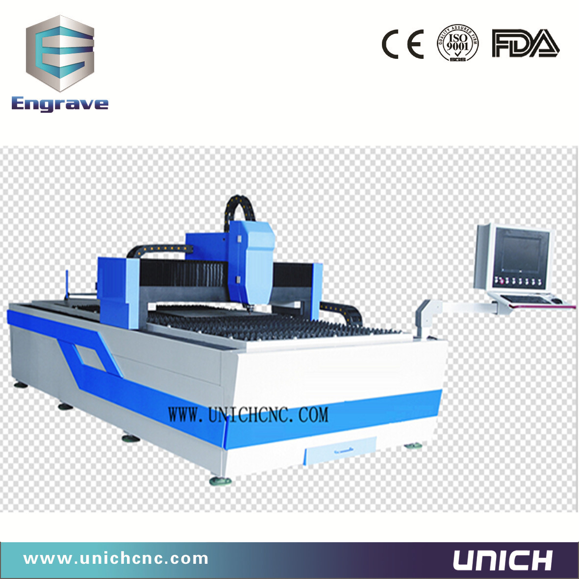 Very Good quality fiber laser cutting machine 1200W