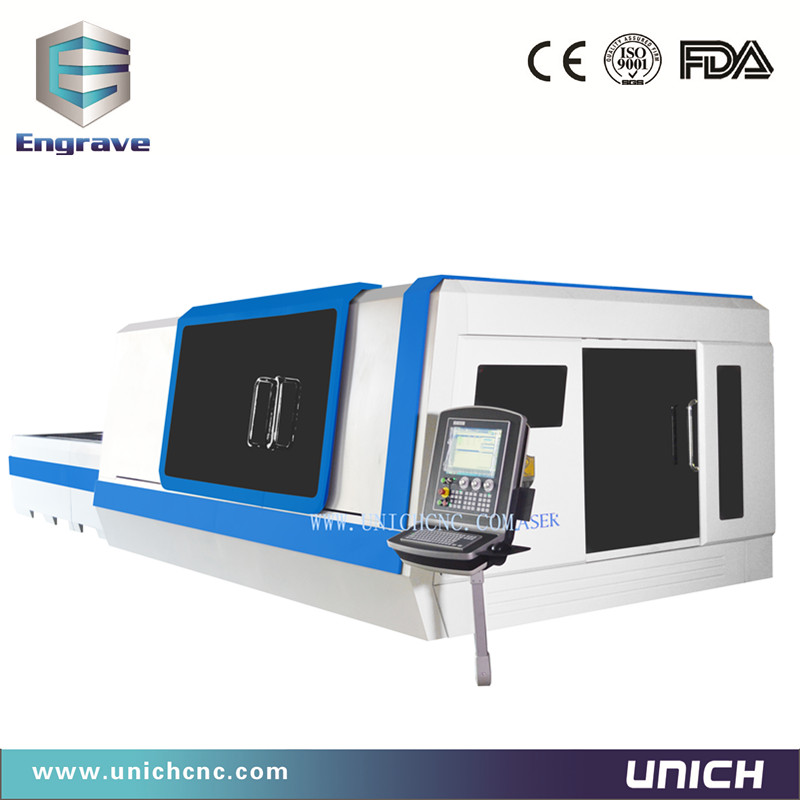 UNICH Fiber laser cutting machine 3000w