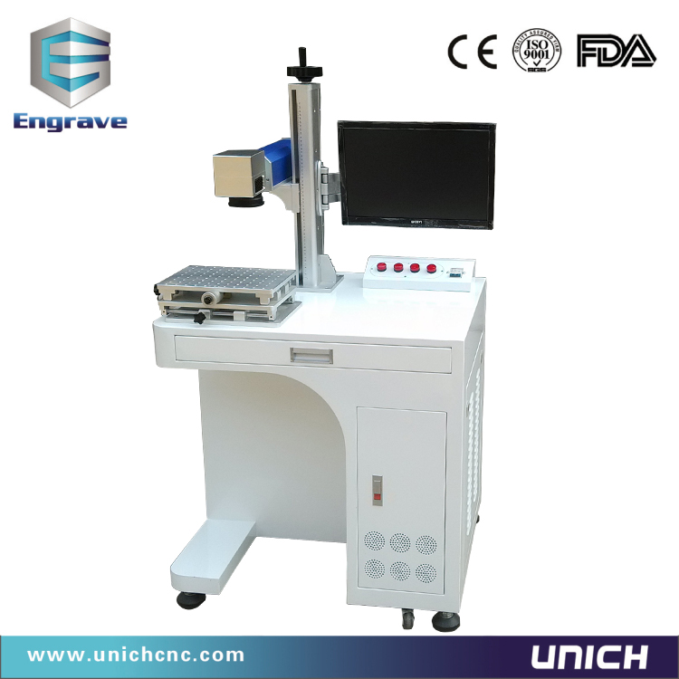 UNICH best quality marking machine for metal parts Fiber -50w