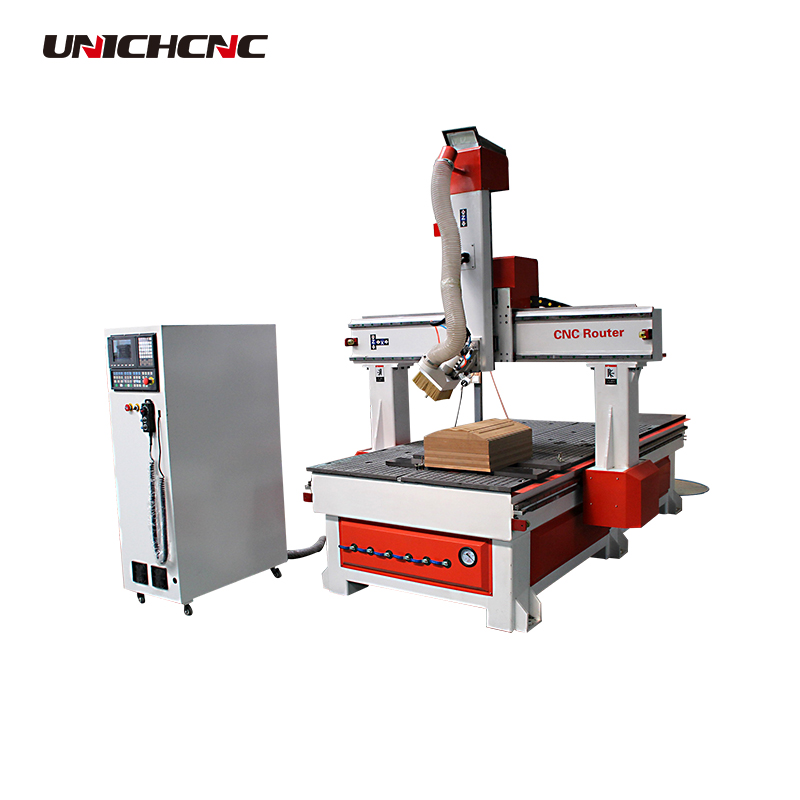 Auto tool changer woodworking cnc router machine 1325 4 axis