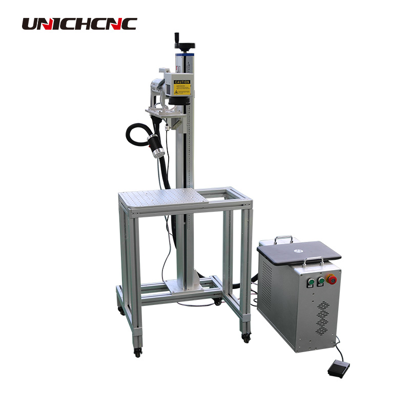 Smart rotary device for laser marking machine