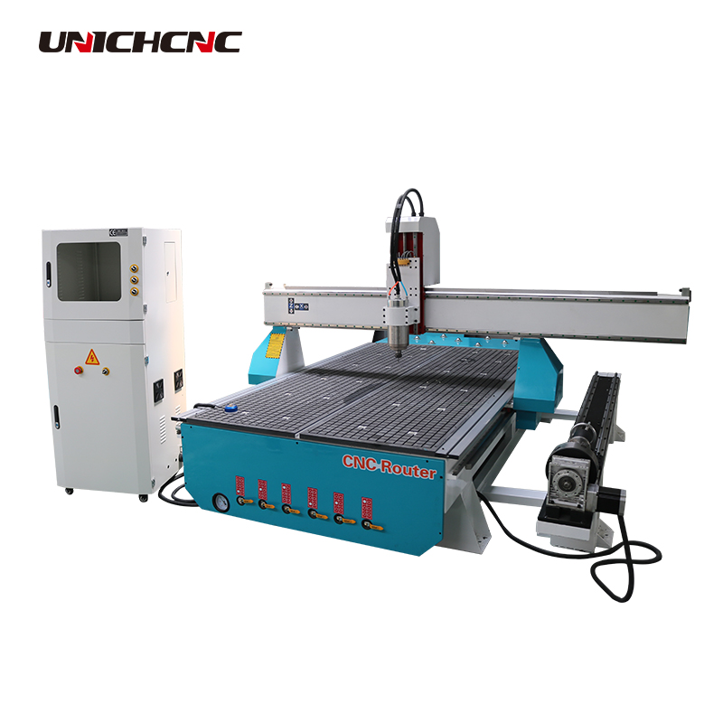 Smart 1325 china price cnc router with rotary device