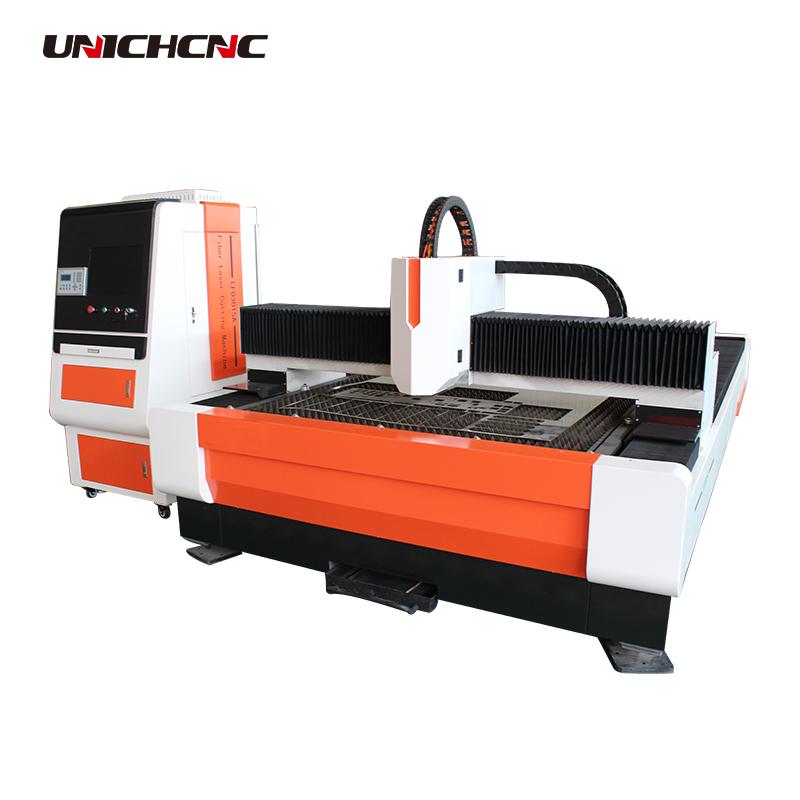 500w 750w 1kw 2kw 3kw fiber laser cutting machine with Japan Fuji servo motor