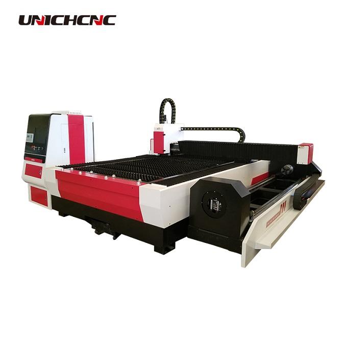 pipe tube fiber laser cutting machine rotary pipe cutter for galvanized sheet