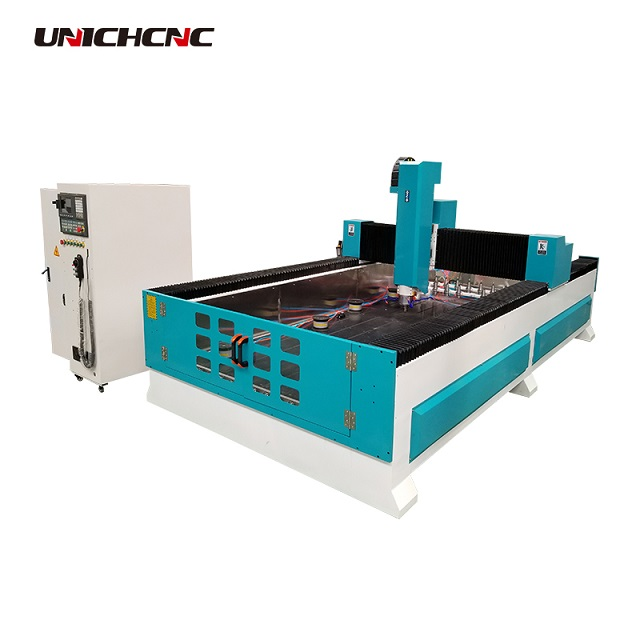 Multi-head stone cnc router 2030 derek heavy-duty stone working machine with ce