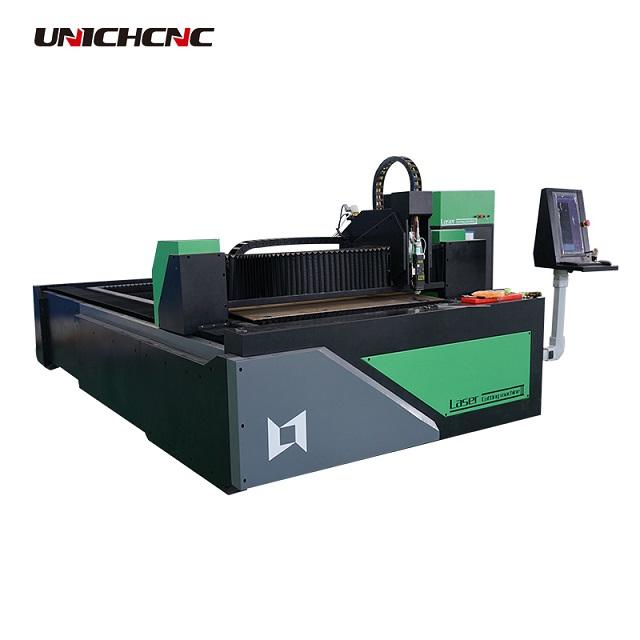 Manufacturer 500w 750 fiber laser cutting machine for metal sheet