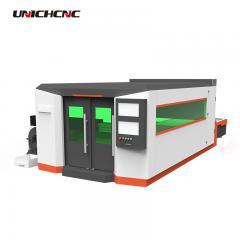 1500 watt 2000w cnc fiber laser cutter machine for square tube