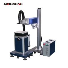 Small co2 150W Bamboo sunglasses laser marking machine