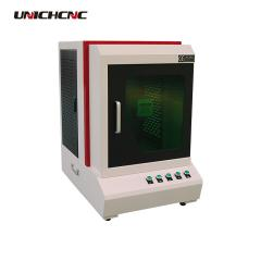 Cheap 30w raycus fiber laser marking machine for metal and plastic