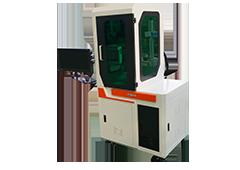 Covered fiber laser marking machine 20w 50w
