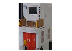 Four rotation station laser marking machine for metal marking
