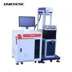 Flexible co2 20w 30w 70W ABS wood plastic rotary optional laser marking machine