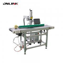 New Conveyor belt station laser marking machine