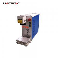 Portable mini Laser marking pcb 2d table machine