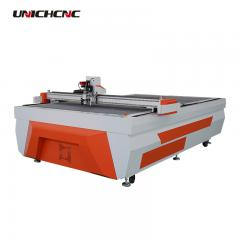 High configuration vibrating knife eva paper cardboard box leather shoes cutting machine
