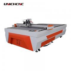 cnc oscillating knife cutter board carton box die cutting machine