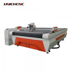 Auto feeding configuration cloth round knife cutter cutting leather machine in China