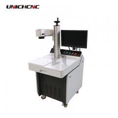 High configuration fibre laser marking machine fiber laser marker on stainless steel iron aluminum