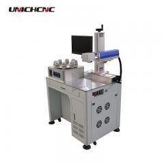 Four station logo laser marking software ezcad price nameplate marking machine