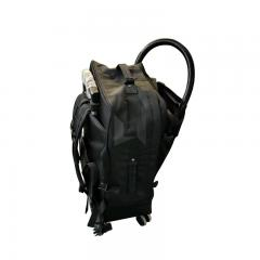 precision handheld portable bagpack 22kg fiber laser cleaning machine for metal nonmetal